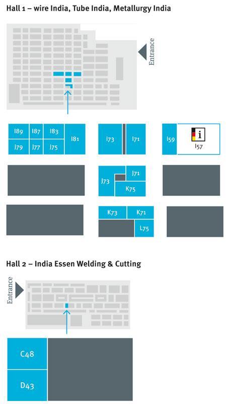 Floor Plan - India Essen Welding & Cutting / wire India / Tube India ...
